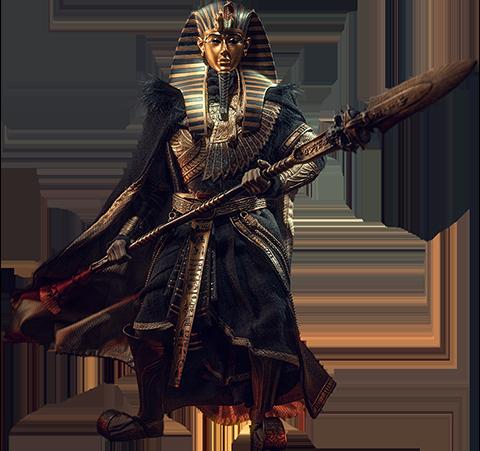 TBLeague Pharoah Tutankhamun (Black) Sixth Scale Figure
