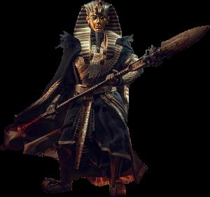 Pharoah Tutankhamun (Black) Sixth Scale Figure