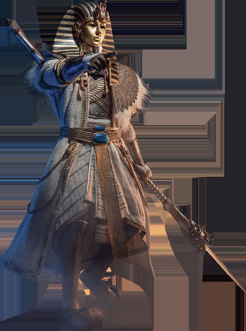 TBLeague Pharoah Tutankhamun (White) Sixth Scale Figure