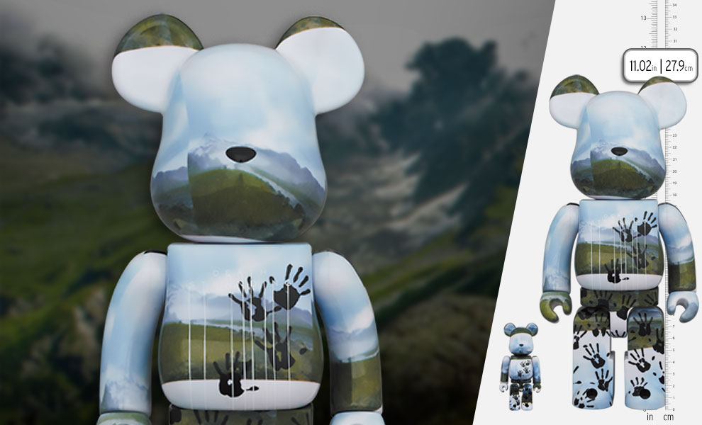 Gallery Feature Image of Be@rbrick Death Stranding 100% and 400% Bearbrick - Click to open image gallery
