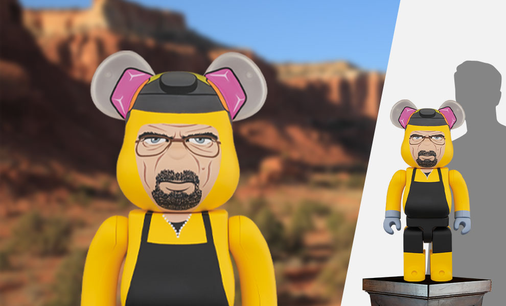 Gallery Feature Image of Be@rbrick Breaking Bad Walter White (Chemical Protective Clothing Ver.) 1000% Bearbrick - Click to open image gallery