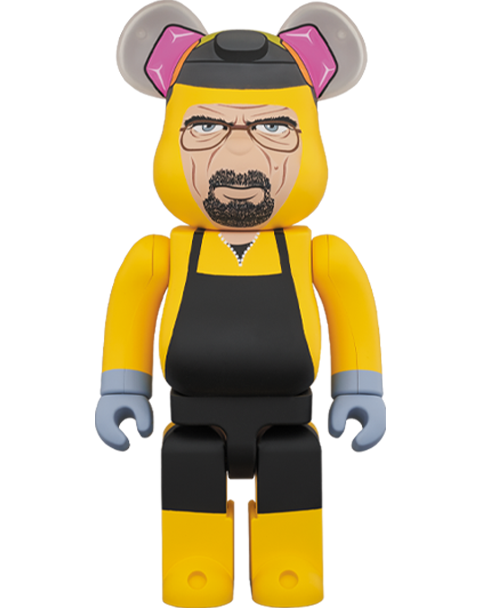 Medicom Toy Be@rbrick Breaking Bad Walter White (Chemical Protective Clothing Ver.) 1000% Bearbrick