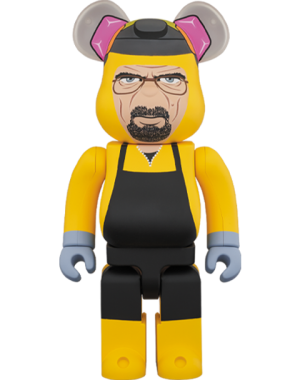 Be@rbrick Breaking Bad Walter White (Chemical Protective Clothing Ver.) 1000% Bearbrick