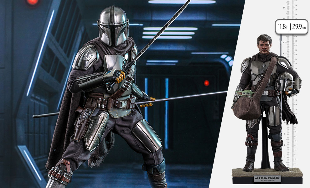 Gallery Feature Image of The Mandalorian™ and Grogu™ Sixth Scale Figure Set - Click to open image gallery