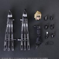 Gallery Image of Cloud Strife & Fenrir Action Figure