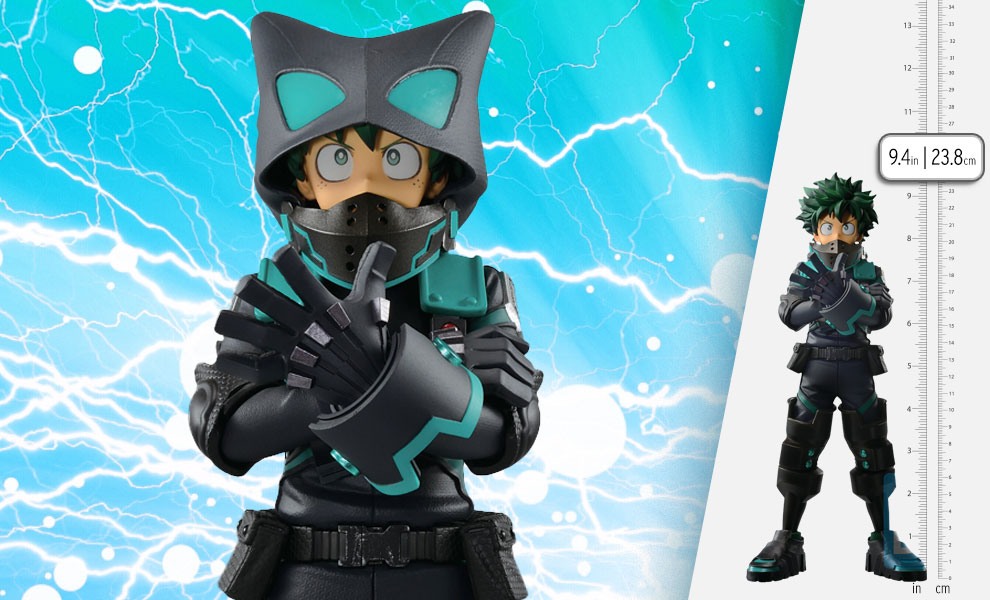 Gallery Feature Image of Izuku Midoriya (World Heroes' Mission) Collectible Figure - Click to open image gallery