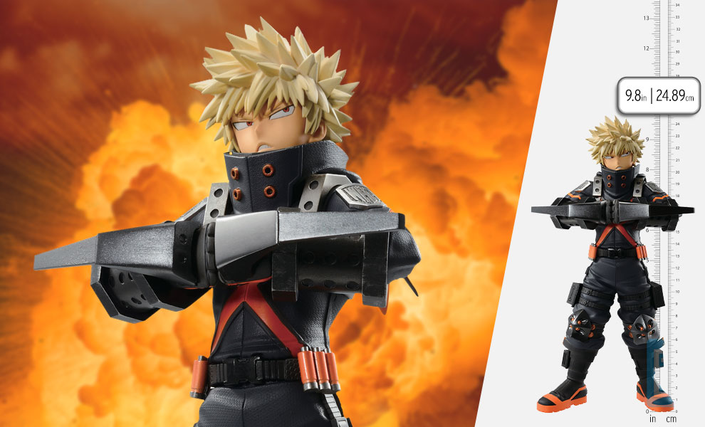 Gallery Feature Image of Katsuki Bakugo (World Heroes' Mission) Collectible Figure - Click to open image gallery