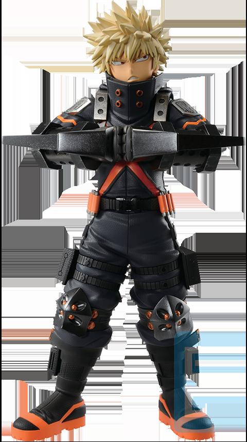 Bandai Katsuki Bakugo (World Heroes' Mission) Collectible Figure