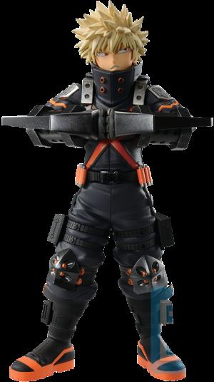 Katsuki Bakugo (World Heroes' Mission) Collectible Figure