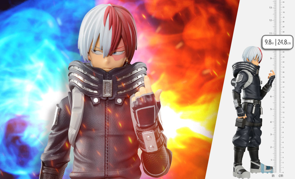 Gallery Feature Image of Shoto Todoroki (World Heroes' Mission) Collectible Figure - Click to open image gallery