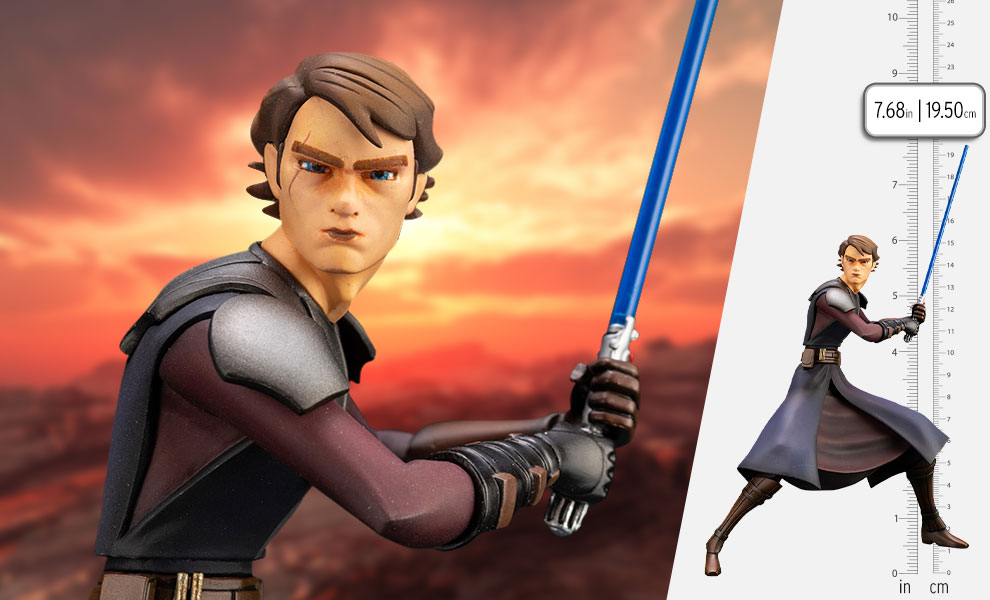 Gallery Feature Image of Anakin Skywalker Statue - Click to open image gallery