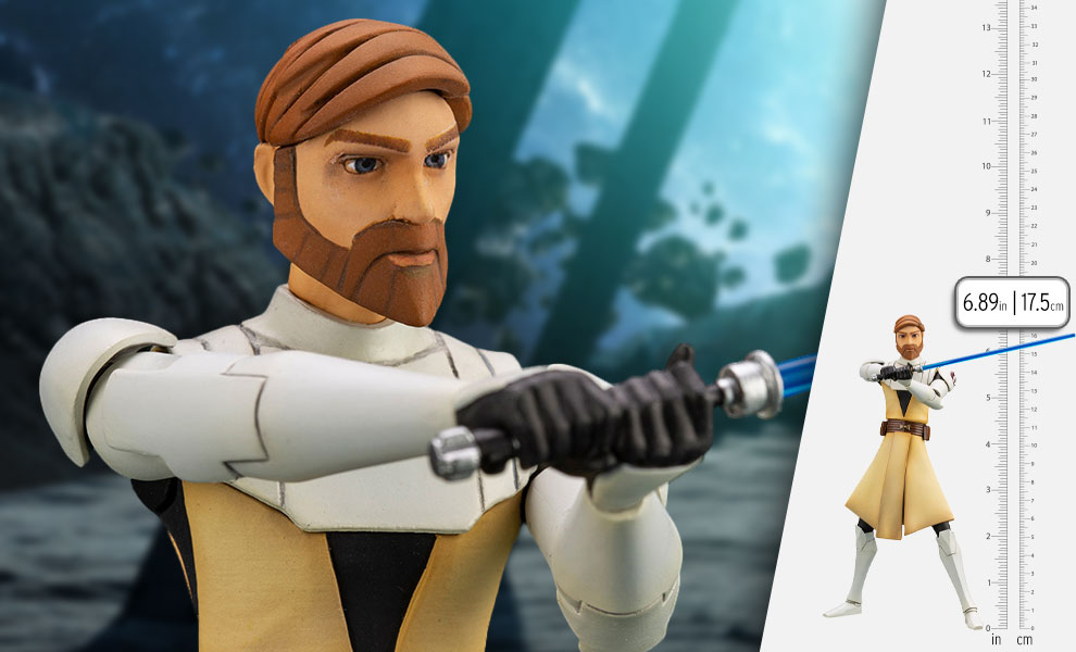 Gallery Feature Image of Obi-Wan Kenobi Statue - Click to open image gallery