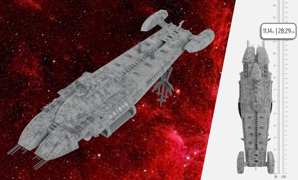 Gallery Feature Image of Osiris Ship Model - Click to open image gallery