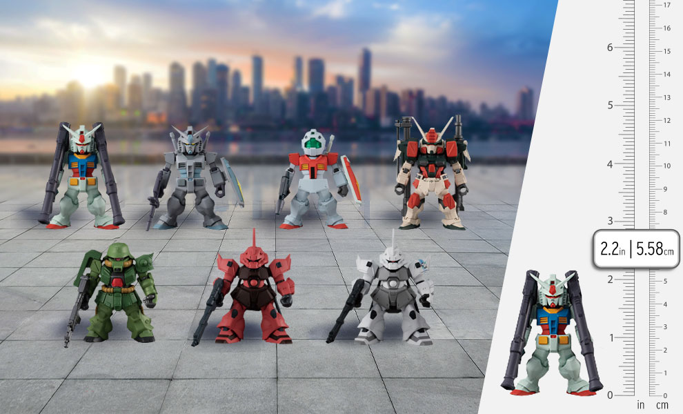 Gallery Feature Image of FW Gundam Converge #22 Collectible Set - Click to open image gallery