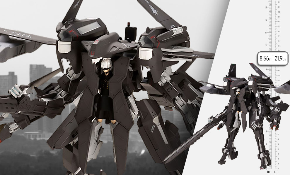Gallery Feature Image of Flight Unit Ho229 Type-S and 9S (YoRHa No.9 Type S) Model Kit - Click to open image gallery