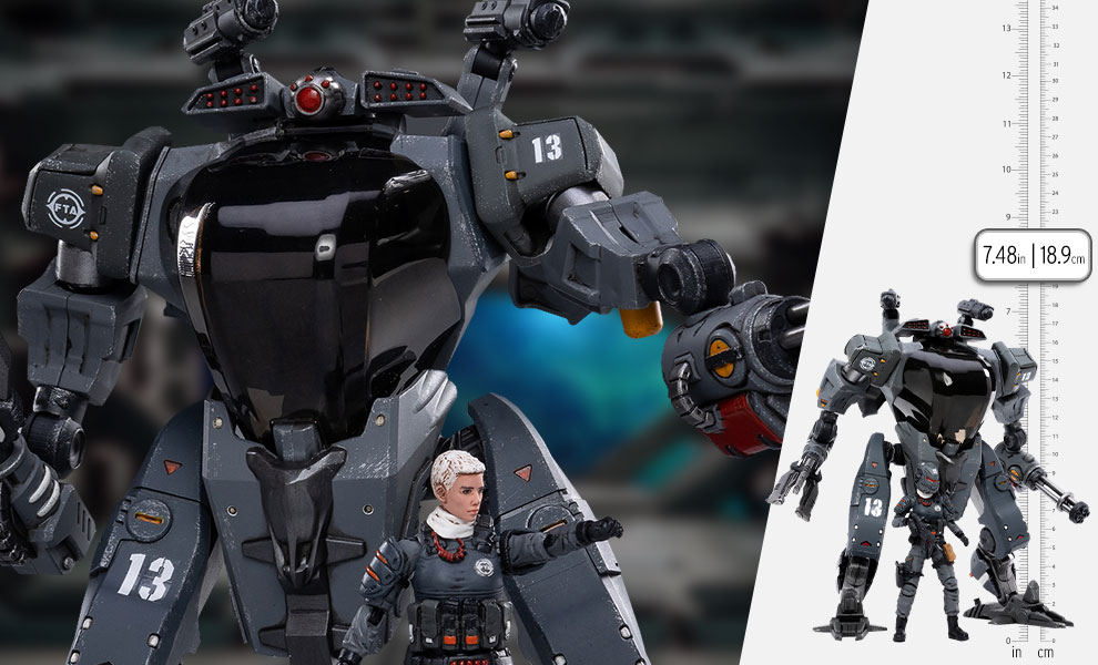 Gallery Feature Image of North Snark Commando Mech Collectible Figure - Click to open image gallery