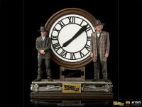 Gallery Image of Marty and Doc at the Clock Deluxe 1:10 Scale Statue