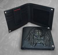 Gallery Image of Predator Embossed Leather Wallet Apparel