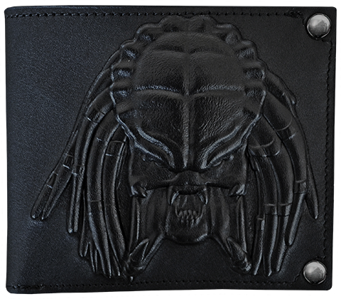 Hollywood Collectibles Group Predator Embossed Leather Wallet Apparel