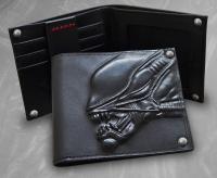 Gallery Image of Alien Embossed Leather Wallet Apparel
