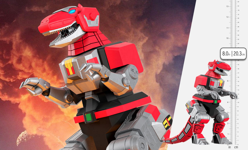 Gallery Feature Image of Tyrannosaurus Dinozord Action Figure - Click to open image gallery