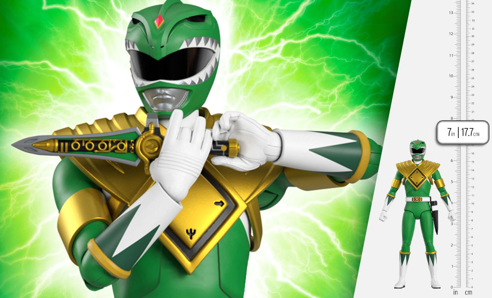 Gallery Feature Image of Green Ranger Action Figure - Click to open image gallery