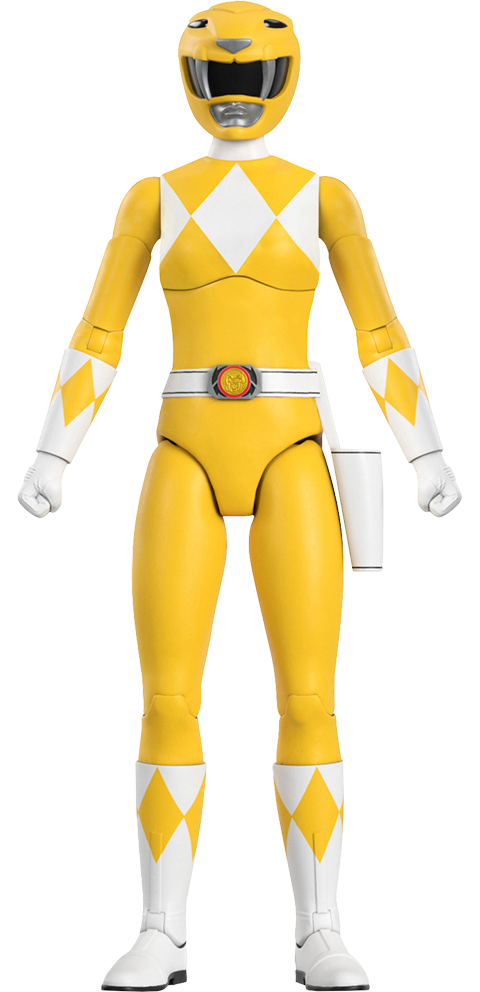 Super 7 Yellow Ranger Action Figure