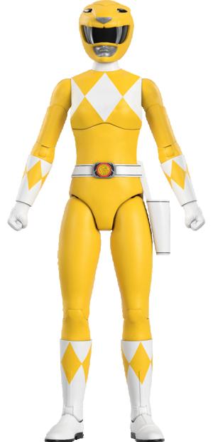 Yellow Ranger Action Figure