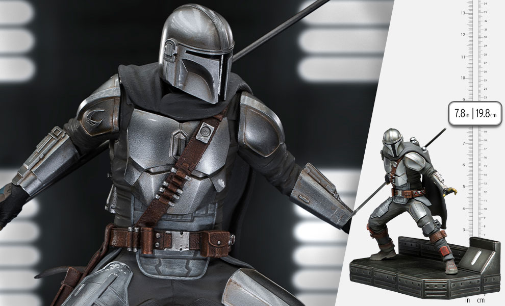 Gallery Feature Image of The Mandalorian 1:10 Scale Statue - Click to open image gallery