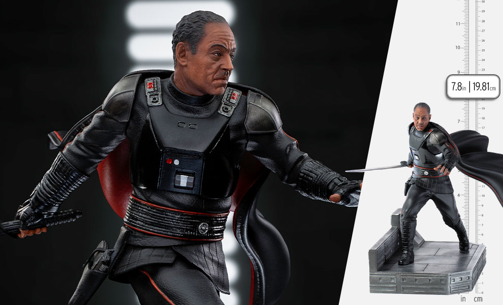 Gallery Feature Image of Moff Gideon 1:10 Scale Statue - Click to open image gallery