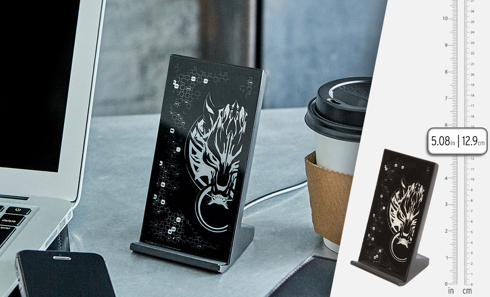 Gallery Feature Image of Final Fantasy VII Advent Children Wireless Charging Stand USB Power Hub - Click to open image gallery