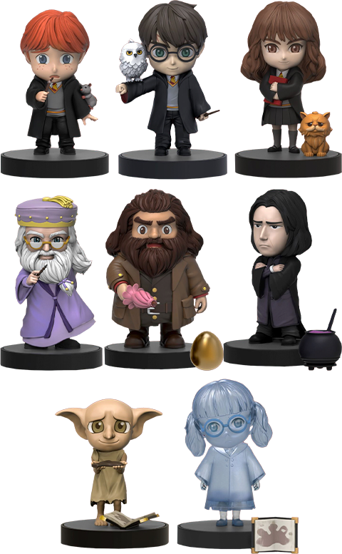 Beast Kingdom Harry Potter Series Collectible Set