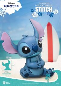 Gallery Image of Stitch Large Vinyl Piggy Bank Collectible Figure