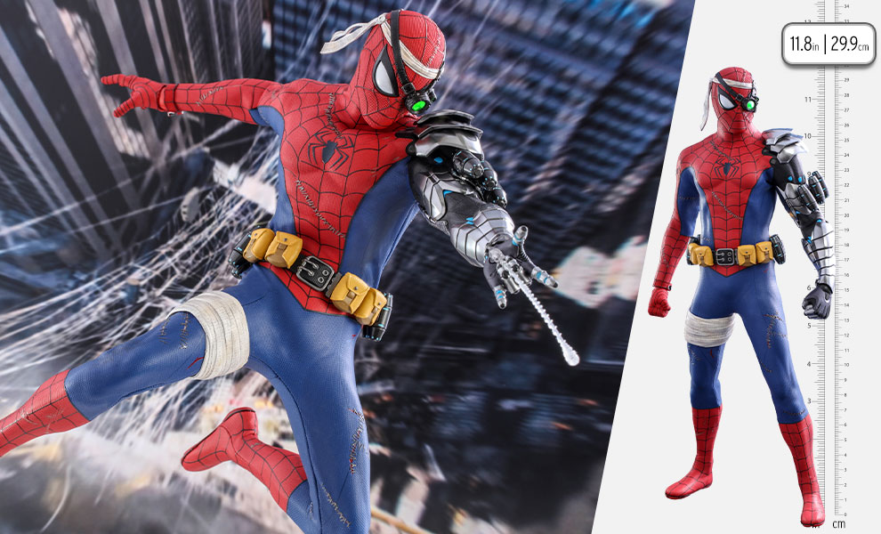 Gallery Feature Image of Spider-Man (Cyborg Spider-Man Suit) Sixth Scale Figure - Click to open image gallery