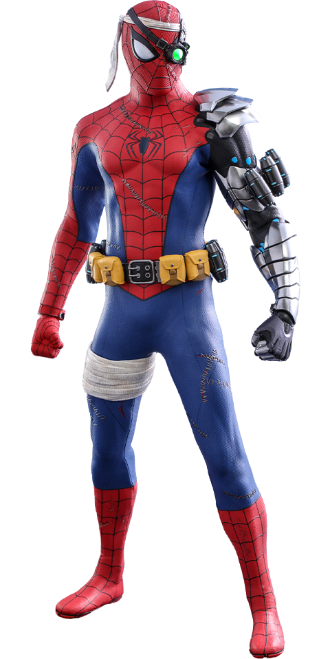 Hot Toys Spider-Man (Cyborg Spider-Man Suit) Sixth Scale Figure