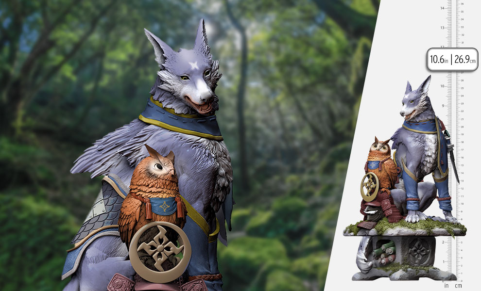 Gallery Feature Image of Palamute Creator's Model Collectible Figure - Click to open image gallery