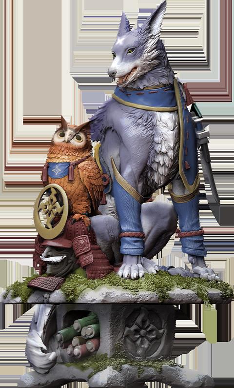 Capcom Palamute Creator's Model Collectible Figure