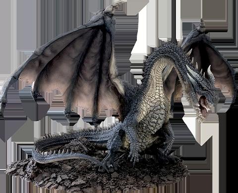 Capcom Fatalis Creator's Model Collectible Figure