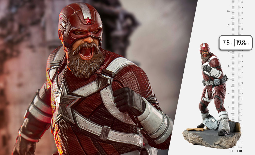Gallery Feature Image of Red Guardian 1:10 Scale Statue - Click to open image gallery