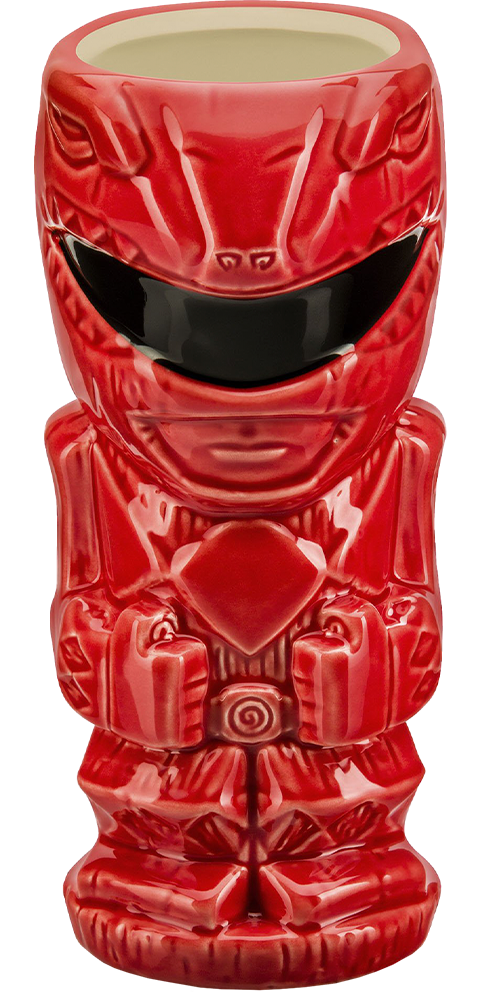 Beeline Creative Red Ranger Tiki Mug