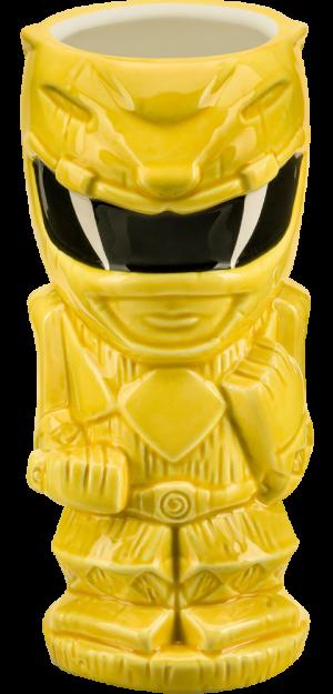 Yellow Ranger Tiki Mug
