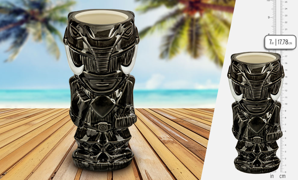 Gallery Feature Image of Black Ranger Tiki Mug - Click to open image gallery