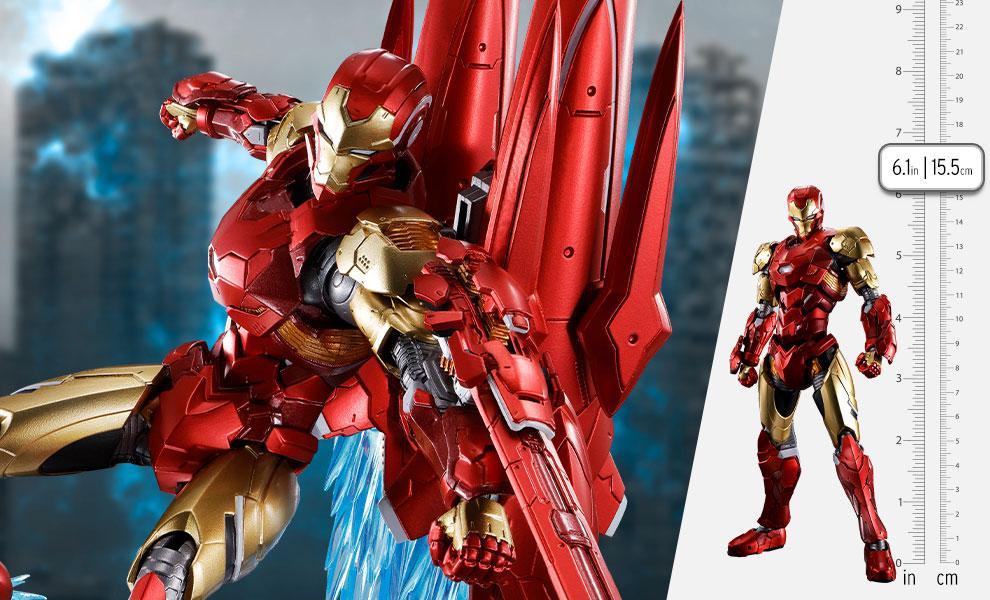 Iron Man (Tech-On Avengers) Collectible Figure by Bandai