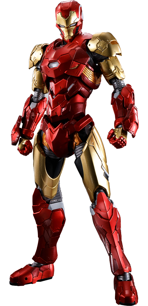 Bandai Iron Man (Tech-On Avengers) Collectible Figure