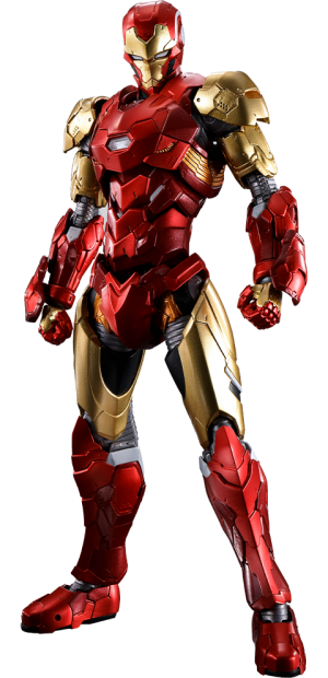 Iron Man (Tech-On Avengers) Collectible Figure