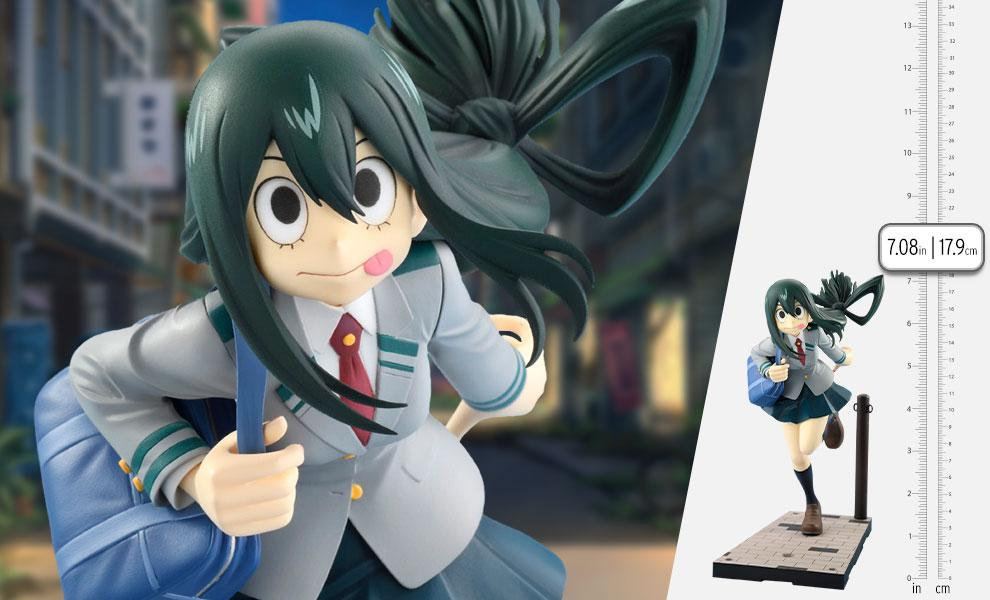 Tsuyu Asui Uniform Version Collectible Figure by Bellfine