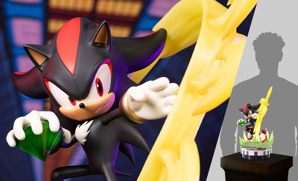 Gallery Feature Image of Shadow: Chaos Control Collectible Statue - Click to open image gallery
