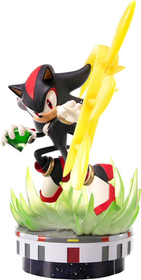 First 4 Figures Shadow: Chaos Control Collectible Statue