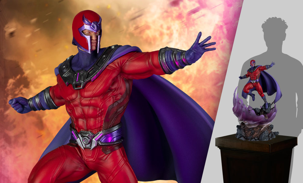 Gallery Feature Image of Magneto (Supreme Edition) Sixth Scale Diorama - Click to open image gallery
