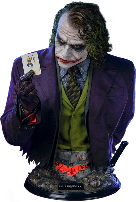 Infinity Studio X Penguin Toys The Joker (The Dark Knight) Life-Size Bust